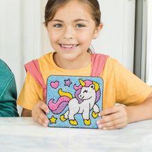 Spuma de modelat - Coloram unicornul