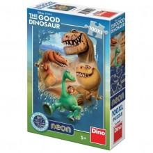 Puzzle NEON - Dinozauri (100 piese XL)