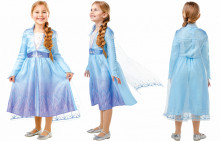 FROZEN 2 COSTUM ELSA DE CALATORIE L