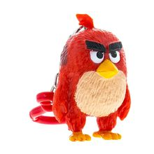 Angry Birds: 3D fig plastic cu agatatoare 7-8,5 cm - Red