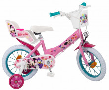 "Bicicleta 14"" Minnie Mouse Club House, fete - Toimsa"