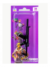 FORTNITE Breloc arma din metal model 3D 12 cm