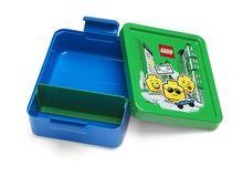 Set pentru pranz LEGO Iconic albastru-verde (40581724)