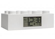 Ceas desteptator LEGO caramida alba (7001026)