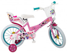 "Bicicleta 16"" Minnie Mouse Club House - Fete"