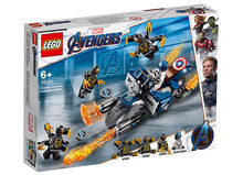 Captain America: Atacul Outriderilor (76123)