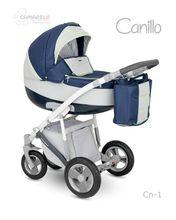 Carucior copii 2 in 1 CANILLO 2017 CAMARELO COLOR CN-1