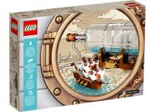 Corabie in sticla - Lego