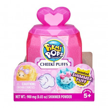 PIKMI POPS Pachet surpriza Cheeki Puffs cu 1 personaj de plus parfumat Cute Pawtoots
