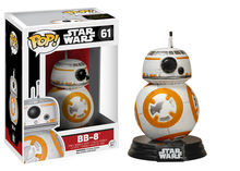 POP BOBBLE: STAR WARS: E7 TFA: BB-8