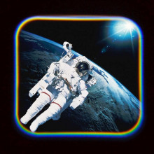 Proiector tip lanterna - Spatiul cosmic