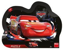 Puzzle cu rama - Cars (25 piese)