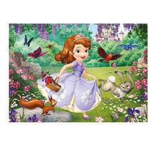 Puzzle de podea - Sofia in parc (24 piese)