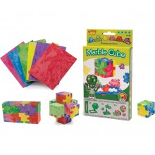 Puzzle - Marble Cube - set 6 bucati