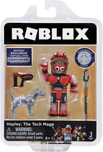ROBLOX CELEBRITY FIGURINA BLISTER Hayley the Tech Mage