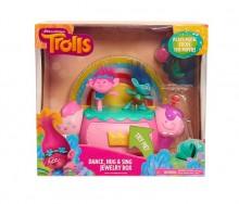 Trolls - Cutie de bijuterii cu efecte luminoase şi sunete
