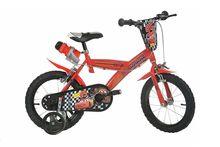 Bicicleta copii 16 '' Cars