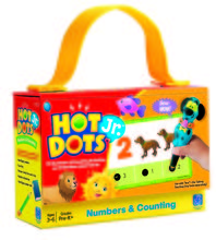 "Carduri Junior HOT DOTS ""Numerele"""