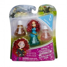 LK Set machiaj Disney Princess - Merida nail