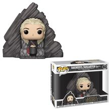 POP VINYL DELUXE GOT S8- DAENERYS ON DRAGONSTONE THRONE