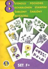 Sabloane pentru desen - Lumea plantelor - Set F