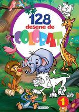 128 desene de colorat 1