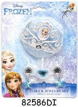 Diadema şi set bijuterii (4 piese) -Frozen