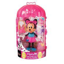 Papusa Minnie cu accesorii - in calatorie