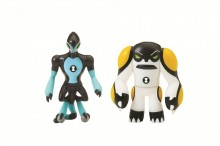 BEN 10 MINI FIGURINE EXTRATERESTRE MIX & MATCH (2 BUC) XLR8 & Ghiulea