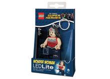 Breloc cu lanterna LEGO DC Super Heroes Wonder Woman (LGL-KE70A)