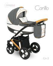 Carucior copii 2 in 1 CANILLO 2017 CAMARELO COLOR CN-3