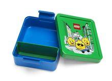 Cutie pentru sandwich LEGO Iconic albastru-verde (40521724)