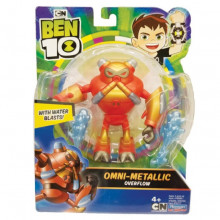 Figurina Ben 10 12cm METALLIC OVERFLOW