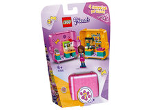 LEGO Friends Andrea's Shopping Play Cube 41405 Building Kit, Includes a Mini-Doll and Toy Pet
