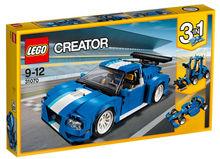 Masina pentru curse de raliu turbo (31070)