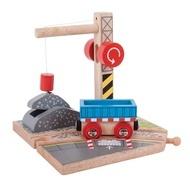 Platforma pentru vagoanele cu pietris