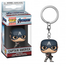 POP KEYCHAIN: MARVEL - ENDGAME - CAPTAIN AMERICA