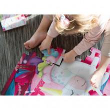 Puzzle (30 piese) cu carte - Unicorn