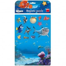 Puzzle magnetic - Nemo (17 piese)