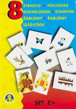Sabloane pentru desen - Natura - Set C