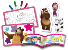Set de colorat - Masha si ursul