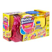 BUNCH O BALLOONS SET PARTY BALLOONS 16 BALOANE SI POMPA - PINK