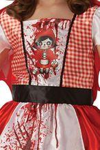 Costum de carnaval - Scufita Rosie infricosatoare