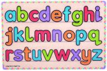 Invatam sa scriem literele
