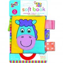 Large Soft Book: Carticica moale Farm Faces