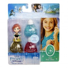 LK Set machiaj Frozen - Anna- seria 2 - Body Glitter - Jakks Pacific