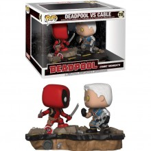 POP BOBBLE 2-PACK: MARVEL: MOVIE MOMENTS: DEADPOOL VS CABLE
