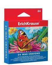 Set creioane colorate cerate - 24 culori