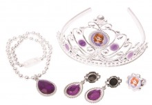Set diadema si bijuterii - Sofia intai