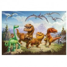 Puzzle - Dinozaurul Arlo si prietenii (66 piese)